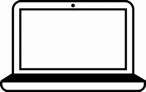 Laptop icon clipart