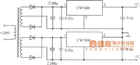 The Integrated Regulated Power Supply Circuit Diagram With
