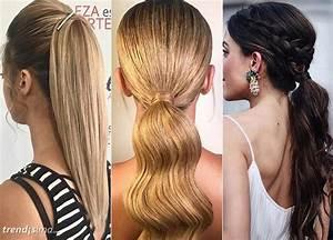 15 Peinados elegantes con coleta trendisima