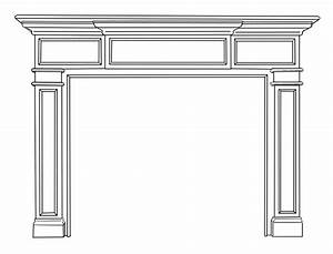 Carolina Natural Wood Mantels For Fireplaces