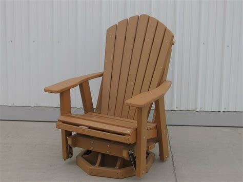 swivel glider adirondack chair plans woodworking