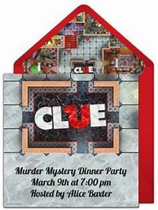 Clue themed murder mystery party might be fun for