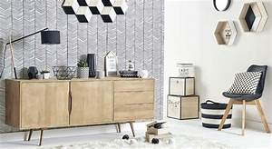 1000 idees sur le theme meuble tv scandinave sur pinterest With lovely meuble stockholm maison du monde 6 maison du monde table basse table basse en bois blanche