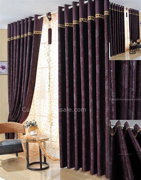 professional dark purple bedroom curtains  suitable