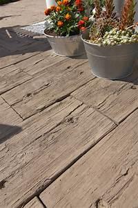 Betonplatten Mit Holzstruktur : betonstein kein andere pflaster erlaubt vielf ltige optiken garten und landschaftsbau ~ Markanthonyermac.com Haus und Dekorationen