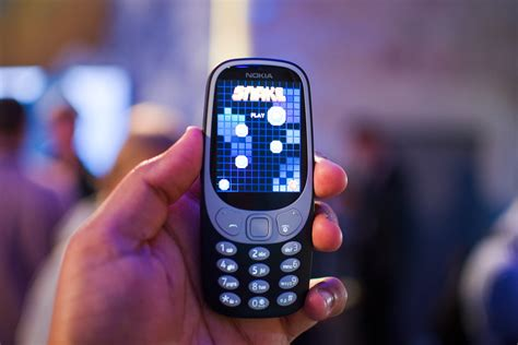 Nokia's 3310 Phone Is Back With More Color