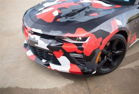 camaro urban camo wrap car wrap city