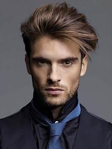 Cheveux En Arrière Homme : grande d grad bas homme noir salon making of test ~ Dallasstarsshop.com Idées de Décoration