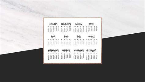 desktop wallpaper calendars  design options