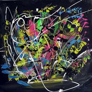Toile Peinture Pas Cher : tableau design abstrait contemporain moderne d ame sauvage ~ Mglfilm.com Idées de Décoration