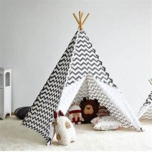 Tente Enfant Tipi : tipi indien pour d co de chambre d 39 enfant ~ Teatrodelosmanantiales.com Idées de Décoration