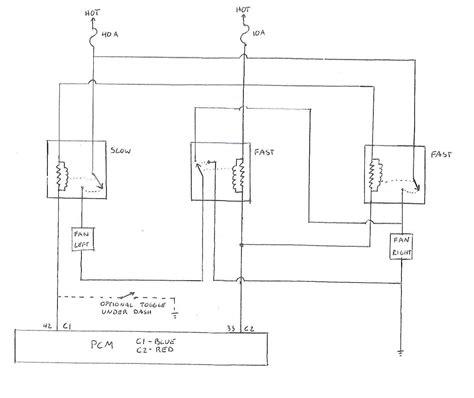 2 Speed Fan Wiring Diagram by 2 Speed Fan Wiring Ls1tech