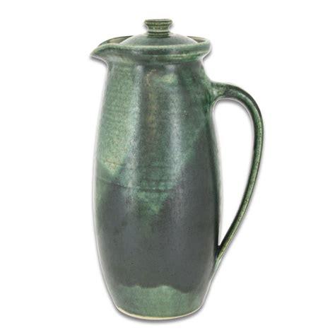 Krug Mit Deckel by Em Keramik Krug Mit Deckel Olivgr 252 N 1 2 1 5 Liter 42 90