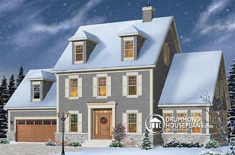 house plan   week colonial classic  flexible