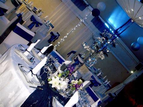decoration salle de mariage bleu et blanc id 233 es de