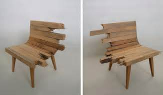 Plywood Sofa Plans by Broken Bench Chairs Unique Furniture Or Clever Art