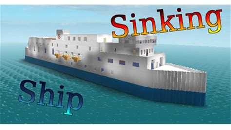 Titanic Boat Game by Sinking Ship Simulator Roblox