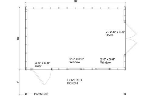10x16 Shed Plans Pdf by Build Shed 201305