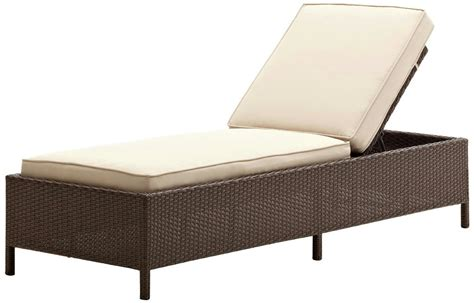 strathwood griffen all weather wicker chaise lounge ebay