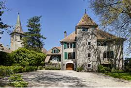 Luxury Real Estate In Gingins Switzerland Magnificent 15th Century Luxury Mansion Magnificent Views Bel Air Real Estate Mansion 458 St Pierre Rd Bel Air Homes Luxury Magnificent Luxury Private Estate Homes Worth Buying Pinterest
