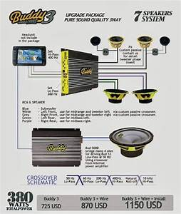 Paket Audio Mobil Pure Sound Quality 3 Way
