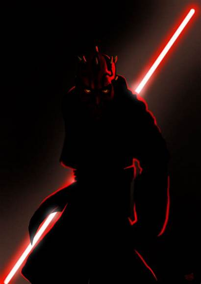 Maul Darth Iphone Wars Star Wallpapers Sith