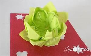 Fleur En Papier Serviette : pliage de serviette facile la fleur de lotus ~ Melissatoandfro.com Idées de Décoration