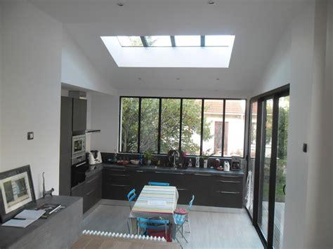 chambre anglais extension maison antony contemporain véranda et