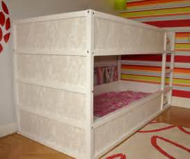 girly kura bunk bed ikea hackers ikea hackers
