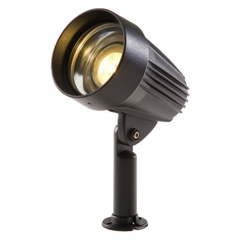 play corvus led outdoor garden mounted spike light