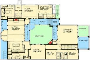 courtyard plans european home plan with central courtyard 36847jg architectural designs house plans