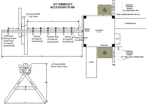 accessory plans  wood swing sets