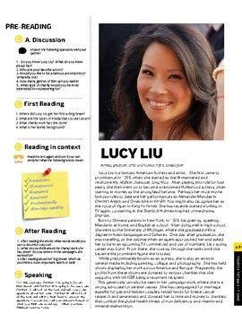 lucy liu esl reading comprehension check discussion