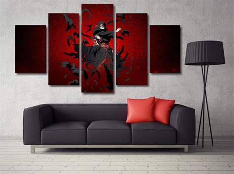 naruto uchiha itachi  piece canvas empire prints