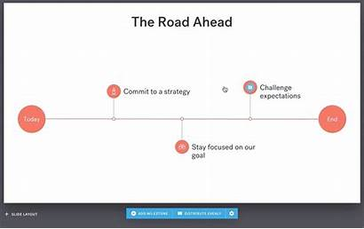 Timeline Slide Ai Slides Rearrange Milestones Easily