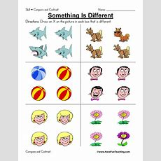 Compare And Contrast Worksheet  Have Fun Teaching
