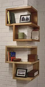 20+ DIY Corner Shelves to Beautify Your Awkward Corner 2017