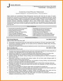 sle resume construction project manager caign