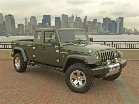 2018 Jeep Gladiator Pickup Truck Price And Release Date