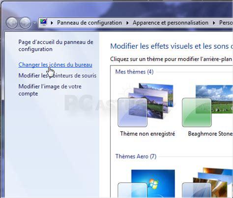 pc astuces ajouter ou retirer des icnes systme du bureau windows 7