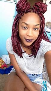 Box braids bob red | HAIR | Pinterest | Bobs, Box braids ...