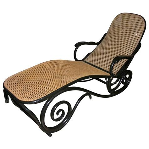 chaises thonet antique thonet chaise longue at 1stdibs