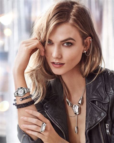 Crystal Jewelry Watches Figurines More Karlie Kloss