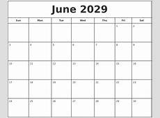 March 2029 Calendar Printable