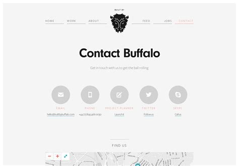 contact us page 20 excellent contact pages webdesigner depot