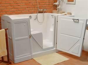 Porte Pour Baignoire : la baignoire porte quels avantages magazine seniors ~ Premium-room.com Idées de Décoration