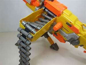 Nerf N-strike Vulcan EBF-25 Automatic / Manual Machine Gun ...