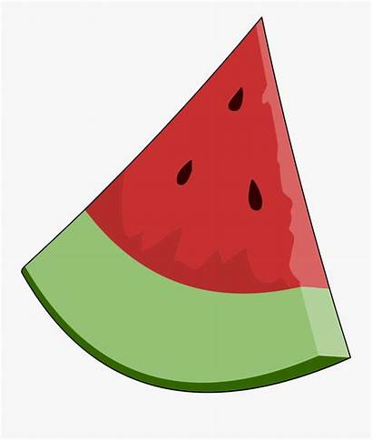 Clipart Clip Watermelon Triangle Objects Shaped Cliparts