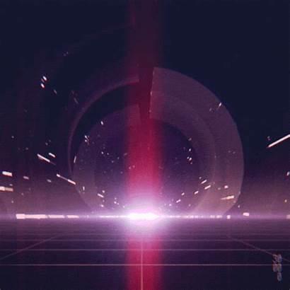 Loop Infinite Future Gifs Night Space Drive