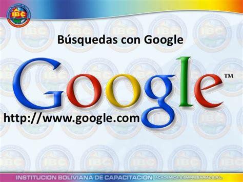 Técnicas Para Buscar Con Google